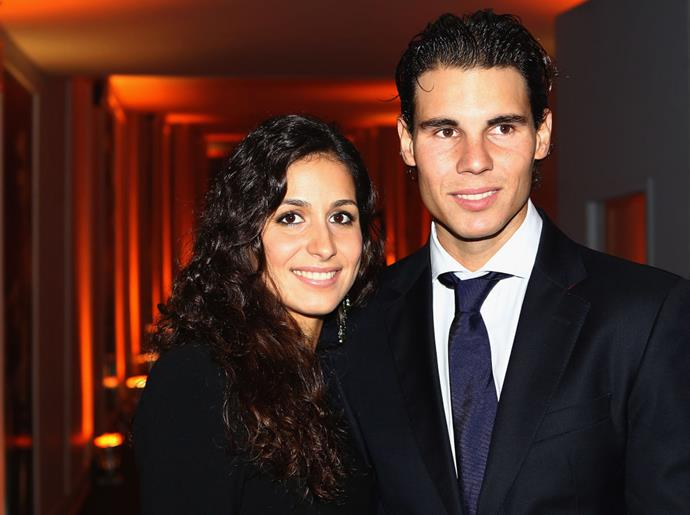 Nadal and Perelló photographed together in 2011.