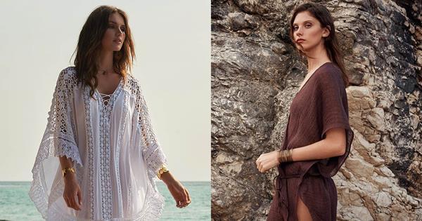 Best Beach Kaftans 2019: Chic Cover-Up Brands To Shop | Harper's BAZAAR Australia