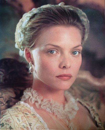 On the set of *Dangerous Liaisons* in 1988