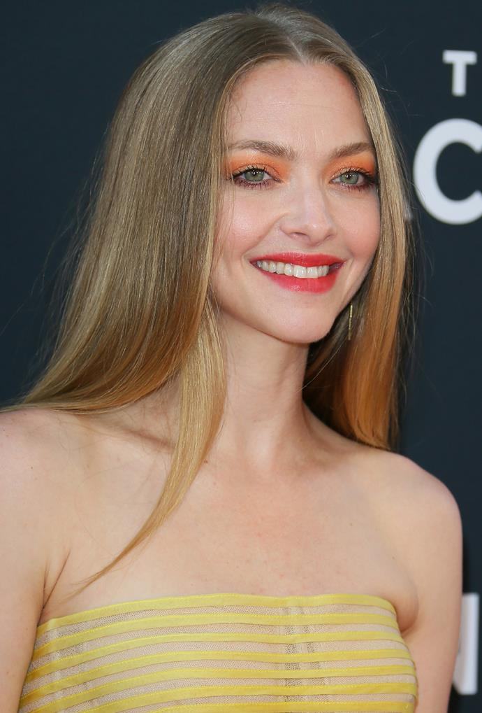 **Amanda Seyfried**<br> Honey hues don't have to be overly warm—if cooler tones flatter your colouring, take Amanda Seyfried's lead and opt for a latte-honey hybrid.
