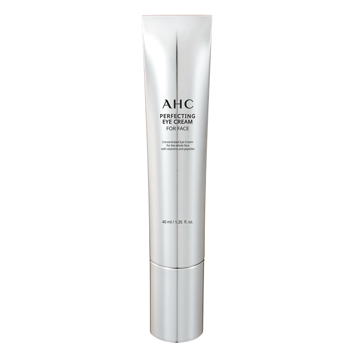 """**AHC Perfecting Eye Cream for Face**  <br></br> Eye creams are often the most expensive products in any given skincare range, as their ingredients are often the most powerful, targeted and concentrated. The brains at AHC decided to afford this opportunity to the entire face, formulating a vitamin and petide complex that acts as an innovative anti-ager. As the hero of the AHC range, one of these Anne Hathaway-loved creams is sold every 3 seconds in Korea—so you know it's a winner (and great under makeup too). <br></br> *AHC Perfecting Eye Cream for Face, $49 at [Myer](https://www.myer.com.au/p/ahc-perfecting-eye-cream-for-face-40ml