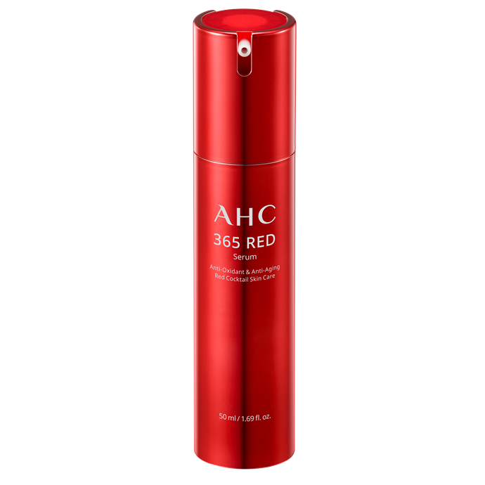 """**AHC 365 Red Serum** <br></br> The key to youthful skin is antioxidants and this potent serum is packed with them. It contains 69 per cent pure Egyptian red hibiscus, which gives skin a dose of vitamins A and C to counteract the signs of ageing and keep the skin looking bright and bouncy.   <br></br> *AHC 365 Red Serum, $79 at [Myer](https://www.myer.com.au/p/ahc-365-red-serum-50ml?istCompanyId=84873db0-394f-434b-8958-29526fe5f03c&istFeedId=3dd6959f-3482-45a5-8a47-313fef9bbe16&istItemId=iwiaawlxw&istBid=t&gclsrc=aw.ds&&gclid=Cj0KCQjwgNXtBRC6ARIsAIPP7Rt1YmUApoYPE7401EdbG1g0HTAifYEj8FuufQlEIhFUl5Xh5DGMp8MaAvN8EALw_wcB