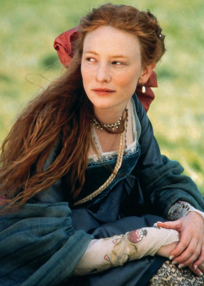***Elizabeth***<br><br>  Portrayed by Cate Blanchett (who earned her first Oscar nomination for the role), *Elizabeth* tells the story of the early years of Elizabeth I's reign and the difficult task of learning what is necessary to be a monarch.