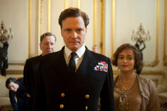 ***The King's Speech***<br><br>  The winner of multiple Academy Awards, this film highlights the story of King George IV (Colin Firth) amid his sudden ascension to the throne in 1936, and the speech therapist (Geoffrey Rush) who helped him overcome his stammer.