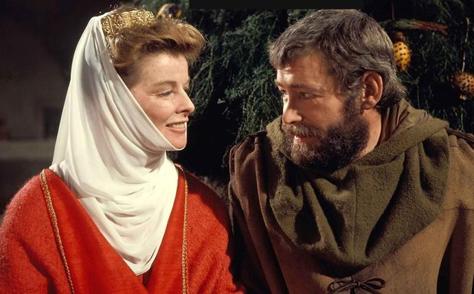 ***The Lion in Winter***<br><br>  Starring the inimitable Katharine Hepburn, Peter O'Toole and Anthony Hopkins, *The Lion in Winter* revolves around King Henry II and his three sons, all of whom want to inherit the throne. When he can't decide, his sons and wife hatch a plot to force him.