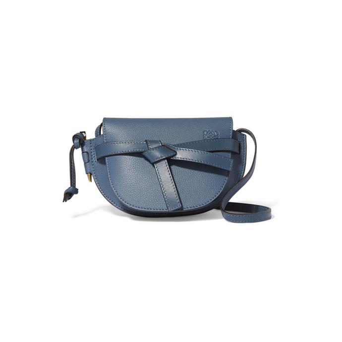 "***A Micro-Bag***<br><br> Mini shoulder bag by Loewe, $1,950 at [NET-A-PORTER](https://www.net-a-porter.com/au/en/product/1150415 target=""_blank"" rel=""nofollow"")."