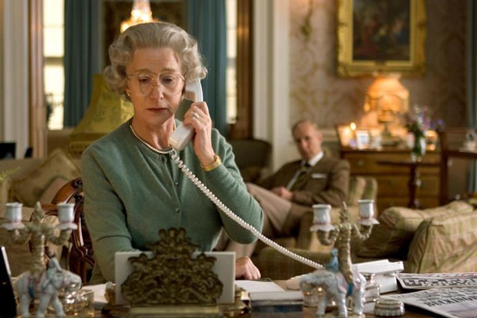 ***The Queen***<br><br>  Set right after the death of Princess Diana, *The Queen* is the story of Queen Elizabeth II (Helen Mirren) as she struggles with her reaction to a sequence of events that nobody could have predicted.