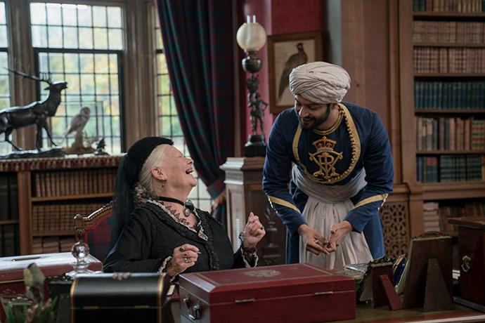 ***Victoria & Abdul***<br><br>  Queen Victoria (Judi Dench) befriends a young Indian clerk by the name of Abdul Karim (Ali Fazal) in a charming tale of unexpected friendship.