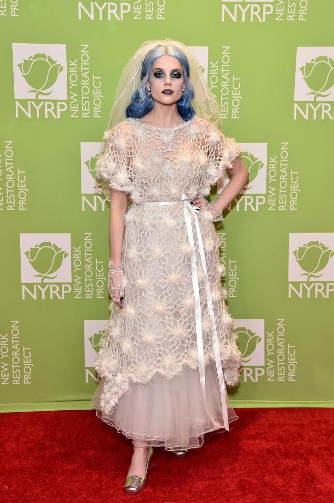 Lucy Boynton as The Corpse Bride.<br><br>