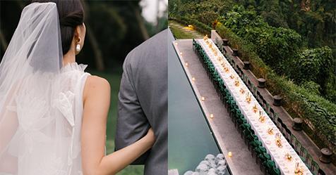 A Magical Jungle Wedding At An Ubud Resort In Bali   Harper's BAZAAR Australia