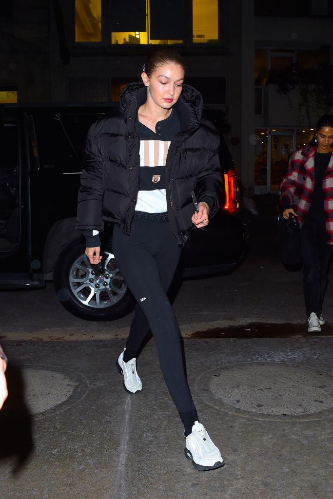 Gigi Hadid in New York City on November 5, 2019.
