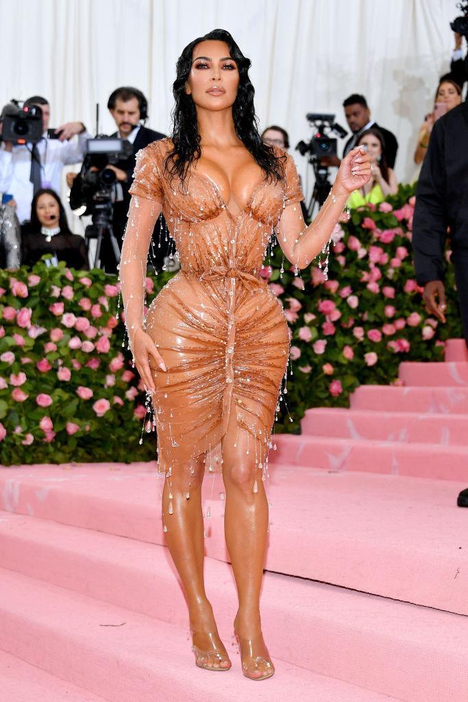 Kim Kardashian West at the 2019 Met Gala on May 6, 2019.