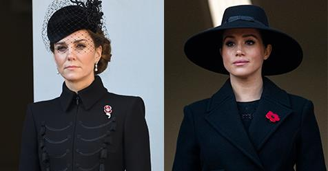 What Royals Wore To Commemorate Remembrance Day 2019 | Harper's BAZAAR Australia