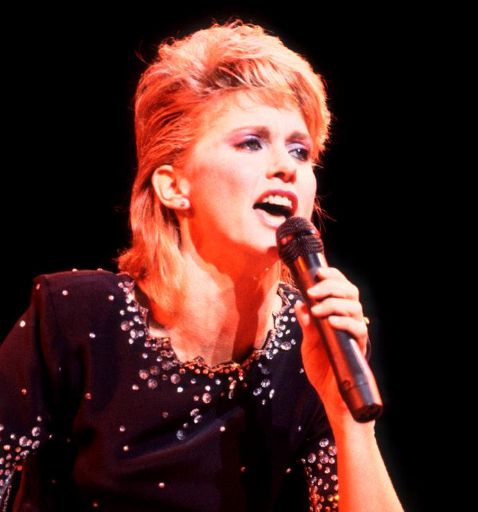 **1982: The mullet**<br><br>  There's perhaps no hairstyle more synonymous with the '80s than the mullet, a look loved by none other than Australian legend, Olivia Newton-John.