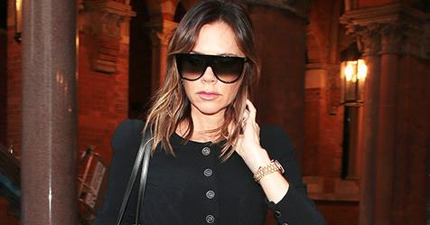 Victoria Beckham Steps Out In A Rare Colourful Outfit | Harper's BAZAAR Australia