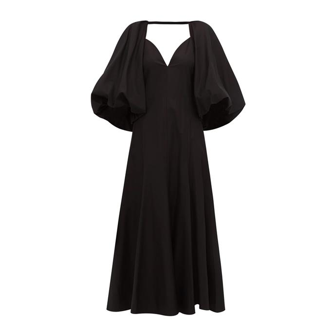 "Dress by Khaite, $2,552 at [MATCHESFASHION.COM](https://www.matchesfashion.com/au/products/1282428|target=""_blank""