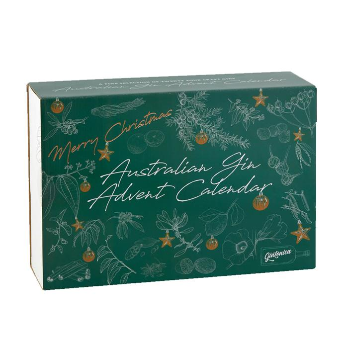 "Australian Gin Advent Calendar by Gintonica, $179 at [Dan Murphy's](https://www.danmurphys.com.au/product/DM_805916/gintonica-australian-gin-advent-calendar-2018-24-x-50ml|target=""_blank""
