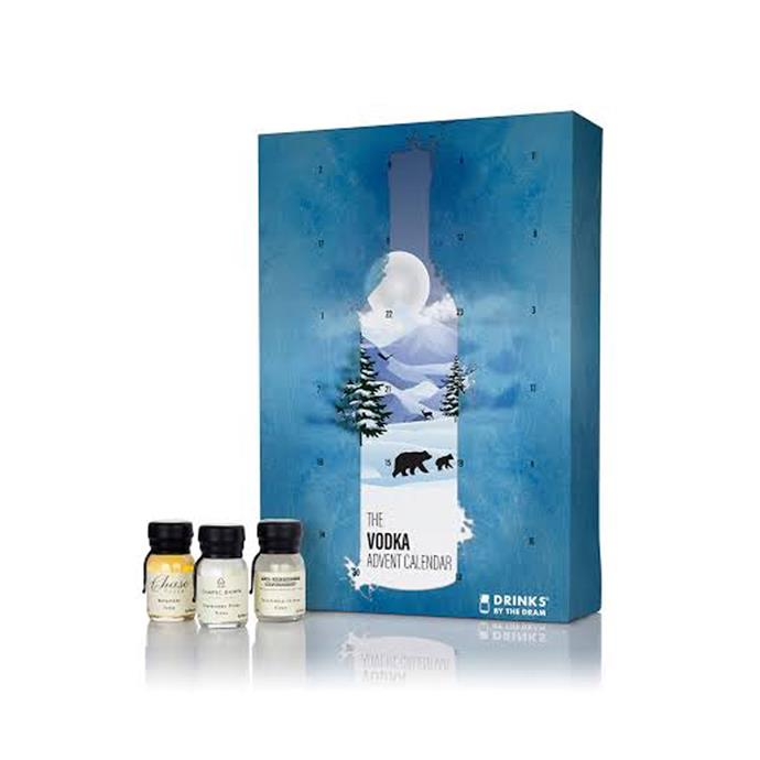 "Vodka Explorer Advent Calendar, $156.46 by [Master of Malt](https://www.masterofmalt.com/vodka/drinks-by-the-dram/vodka-explorer-advent-calendar/|target=""_blank""
