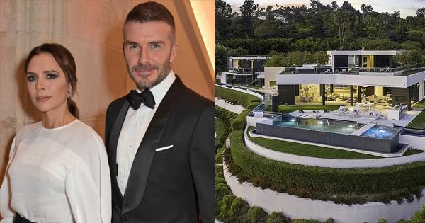 Inside David & Victoria Beckham's Los Angeles House - Harper's BAZAAR