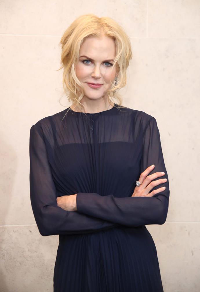 **Nicole Kidman** <br><br> Born in Hawaii and raised on Sydney's North Shore, Nicole Kidman's breakout role was in the 1990 film *Days of Thunder*. Before that, however, she worked as an assistant massage therapist with her mother, to help support her teacher parents.