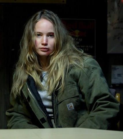 Jennifer Lawrence in 2009's *Winter's Bone*.
