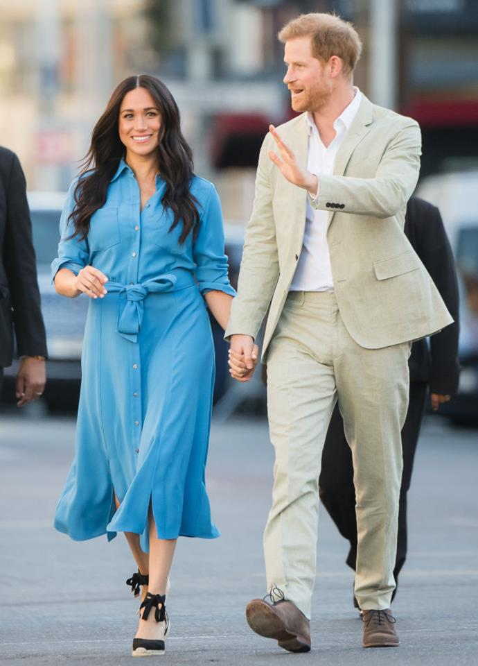 "**1. Meghan Markle**<br><br>  The Duchess of Sussex has taken out the top spot as the most powerful dresser of 2019, with Meghan's looks enabling a 216% increase in searches for similar ensembles. Her [trip to South Africa](https://www.harpersbazaar.com.au/fashion/meghan-markle-africa-tour-fashion-19327|target=""_blank""), in particular, generated some impressive results. During her tour, searches for 'shirt dresses' jumped up by 45% over the month, while the Club Monaco-style dress saw a 570% boost—before selling out in less than 24 hours."