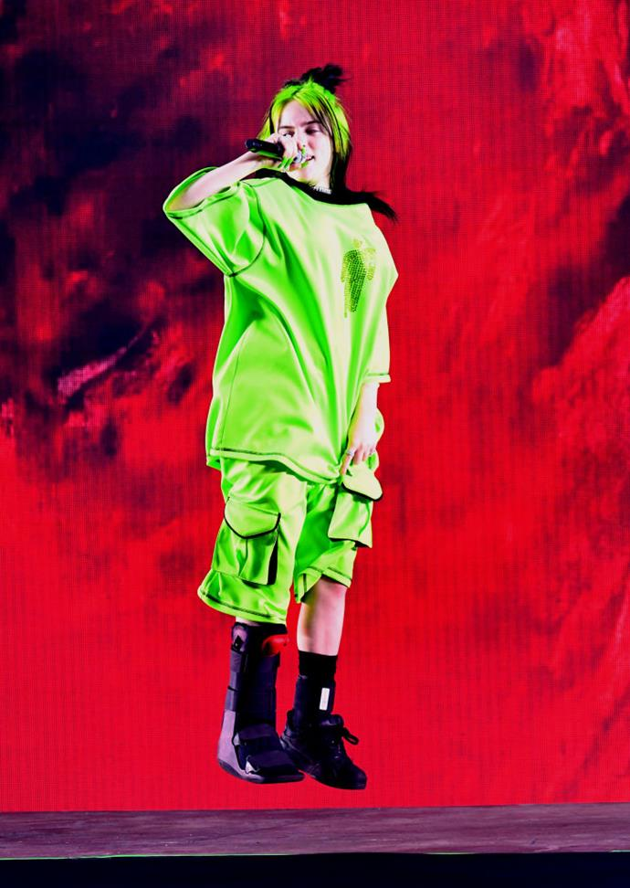 **4. Billie Eilish**<br><br>  A Gen Z favourite and a fashion star to watch, 17-year-old songstress Billie Eilish caused a 69% increase in searches for neon green after wearing the hue on a number of occasions this year. Searches for the brand Bbcicecream saw a 211% spike in searches after the singer tagged them a post she shared with her 42 million Instagram followers.