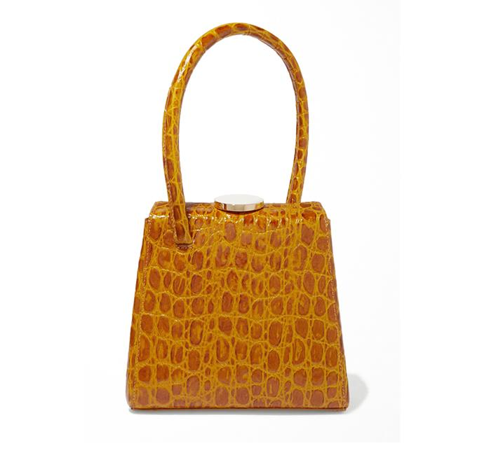 "**Bag by Little Liffner, $537.35 at [Net-a-Porter](https://www.net-a-porter.com/au/en/product/1201813/little_liffner/mademoiselle-croc-effect-leather-tote|target=""_blank""