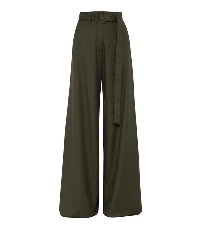 "**Pants by [Anna Quan](https://annaquan.com/collections/pants/products/max-pants-olive-green|target=""_blank""