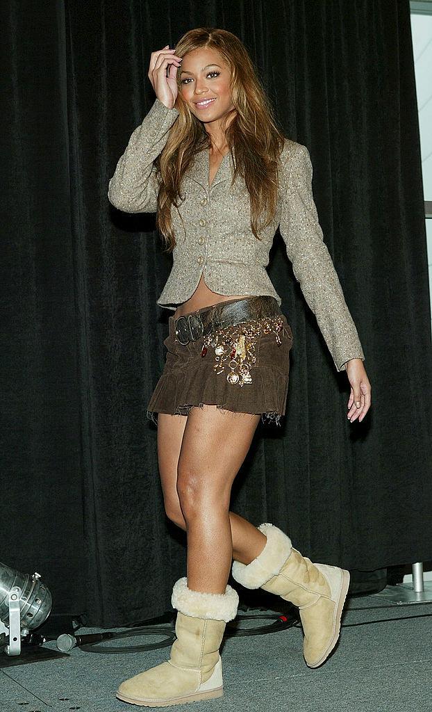Beyoncé in 2004.
