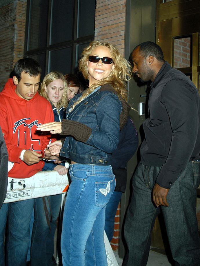 Mariah Carey in 2002.