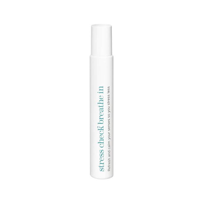 """Calming oil by This Works, $31 at [MECCA](https://www.mecca.com.au/this-works/stress-check-breathe-in/I-026851.html target=""""_blank"""" rel=""""nofollow"""")."""