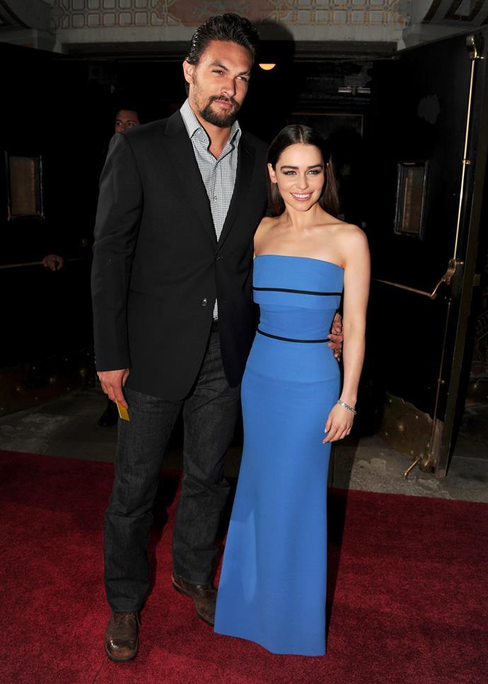 "**Emilia Clarke** is 157cm, or 5""2', tall."