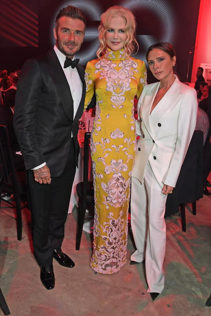 """**Victoria Beckham** (right) is 163 cm, or 5""""4', tall."""