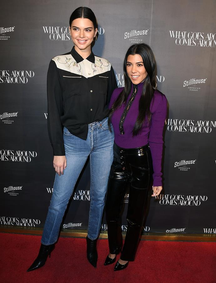 "**Kourtney Kardashian** (right) is 155 cm, or 5""1', tall."