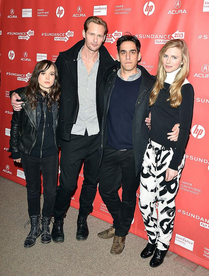 """**Ellen Page** (left) is 155 cm, or 5""""1', tall."""