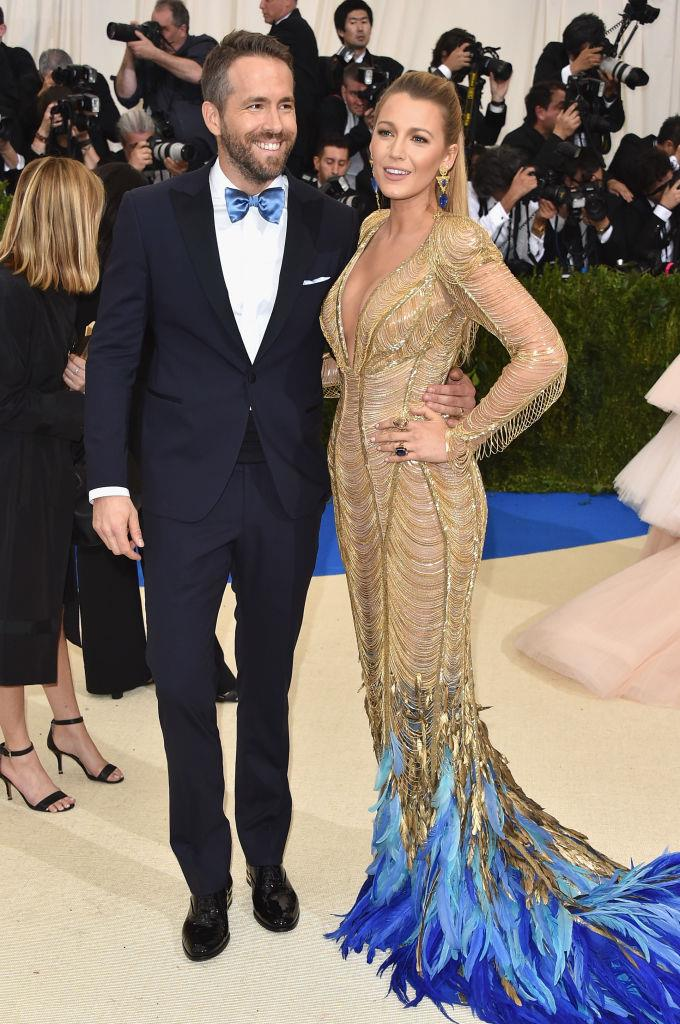 Blake Lively and Ryan Reynolds' quietly coordinated glamour in 2017.
