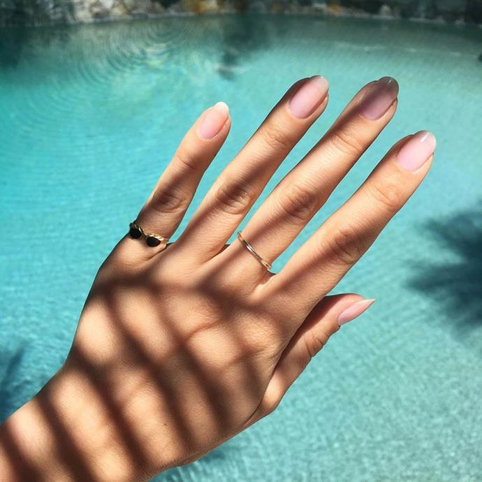 """**THE 'CLEAN MANICURE'**<br><br>  An eco-friendly alternative to the standard shellac or polish options available in salons, the ['clean manicure'](https://www.harpersbazaar.com.au/beauty/clean-manicure-19608
