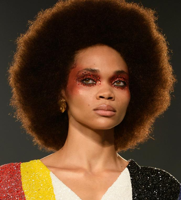 """**THE** ***EUPHORIA*** **EFFECT**<br><br>  As proven by numerous runways at [New York Fashion Week](https://www.elle.com.au/beauty/new-york-fashion-week-euphoria-beauty-21234