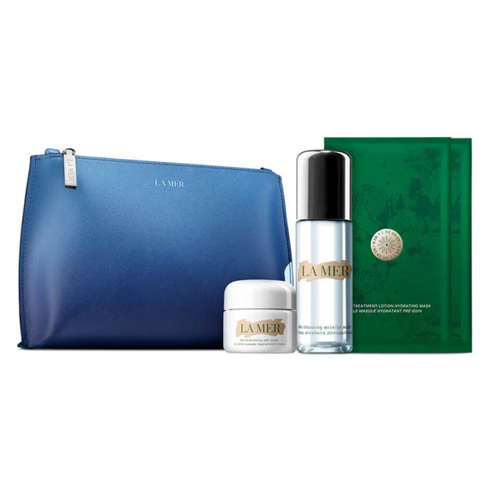 """**The Refreshing Radiance Collection by La Mer, $305 from [MECCA](https://www.mecca.com.au/la-mer/the-refreshing-radiance-collection/I-040450.html#q=la+mer&sz=36&start=1
