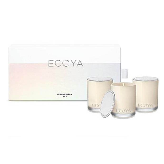 """**Mini Madison Gift Set by Ecoya, $54.95 from [David Jones](https://www.davidjones.com/Product/21595951/ECOYA-Mini-Madison-Gift-Set