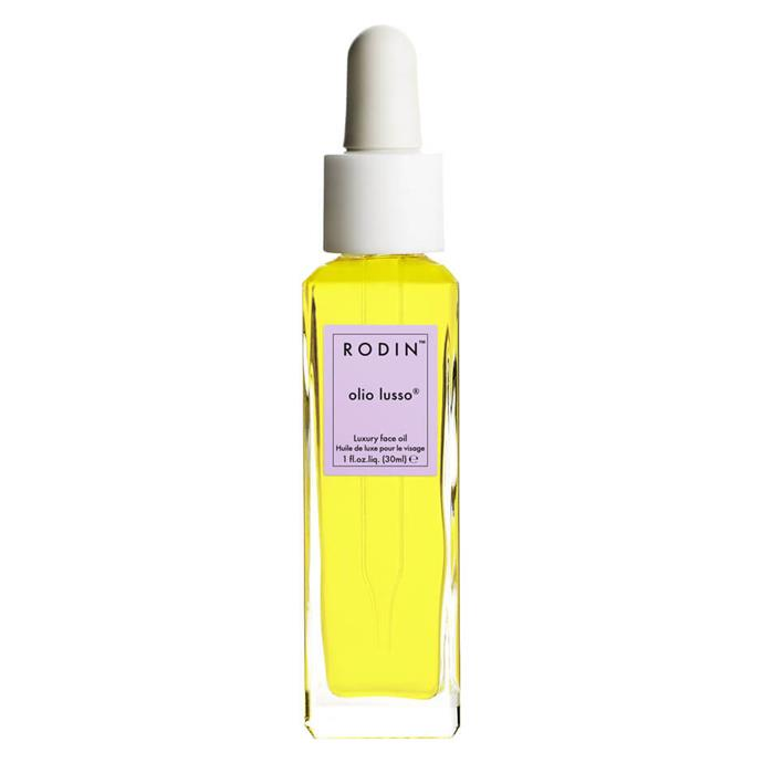 """**Lavender Absolute Luxury Face Oil by Rodin Olio Lusso, $260 from [MECC](https://www.mecca.com.au/rodin-olio-lusso/lavender-absolute-luxury-face-oil/V-025388.html#q=olio%2Blusso&start=1
