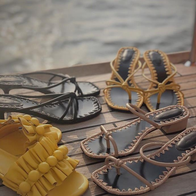 "***Mara & Mine*** <br><br> Price point: $310 - $575 <br><br> Launched in 2013, this  modern footwear label designs one-of-a-kind sandals, slides and mules. Fabrics and textiles are sourced from Italy and Spain, lending the designs both quality and European elegance. Their signature slippers have been coveted by the likes of Kendall Jenner and Margot Robbie. <br><br> *Shop at: [Mara & Mine](https://au.maraandmine.com/|target=""_blank""