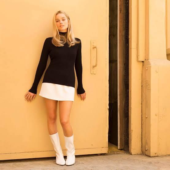 Sharon's go-go boots in *Once Upon a Time in Hollywood* (2019).