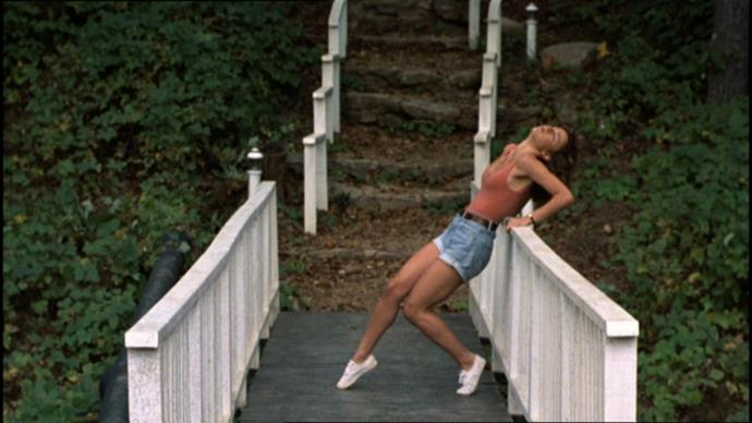 Baby's white sneakers in *Dirty Dancing* (1987).