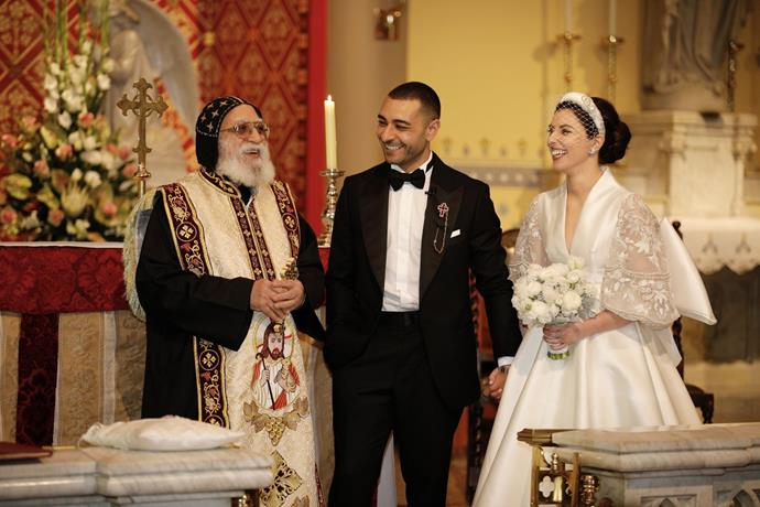 **On the type of ceremony:** We were fortunate enough to have the support to create a Roman Catholic Ceremony which incorporated the Coptic Orthodox Crowning and blessing of the wedding rings. It was so special to yet again highlight traditions across cultures and our guests really enjoyed what they witnessed.