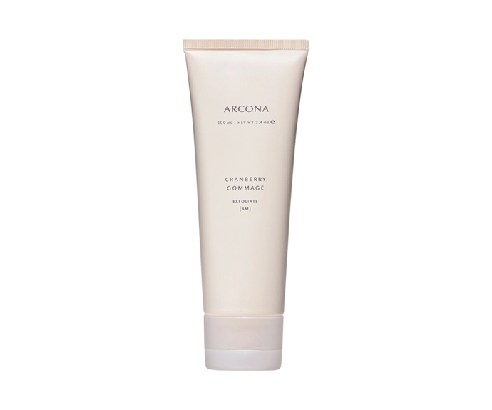 """**Cranberry Gommage by Arcona, $66 at [Sephora](https://www.sephora.com.au/products/arcona-cranberry-gommage/v/cranberry