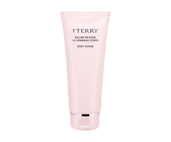 """**Baume de Rose Le Gommage Corps Body Scrub by By Terry, $138.48 at [Net-A-Porter](https://www.net-a-porter.com/au/en/product/1056920/By_Terry/baume-de-rose-body-scrub-180g