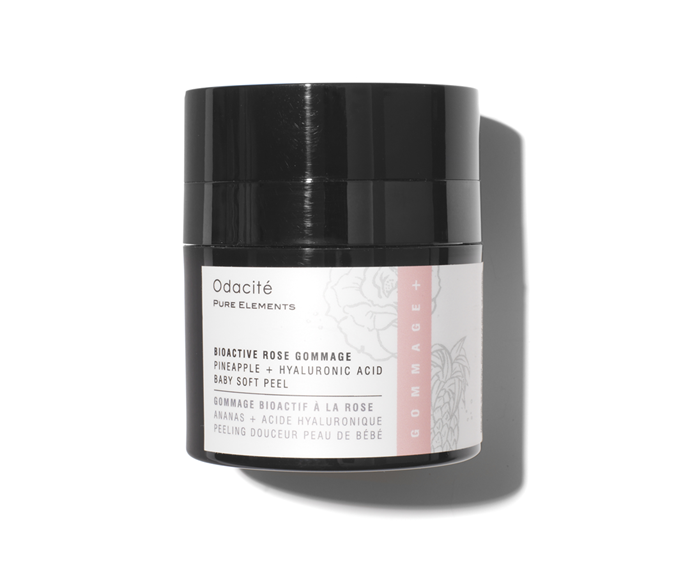 """**Bioactive Rose Gommage by Odacité, $99.95 at [The Apothecary Store](https://theapothecarystore.com.au/products/bioactive-rose-gommage
