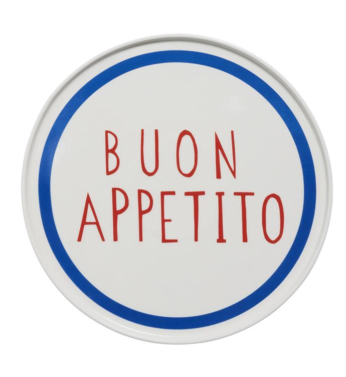"""In The Roundhouse Buon Appetito plate, $29 from [In The Roundhouse](https://www.intheround.house/
